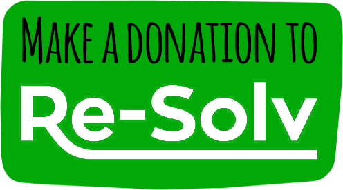 re-solv logo solvent abuse charity